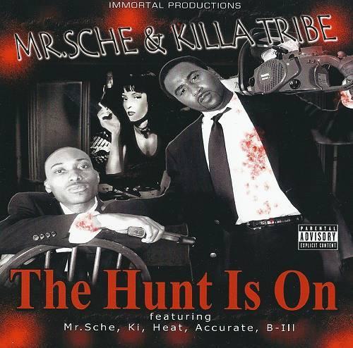 Mr. Sche & Killa Tribe - The Hunt Is On cover