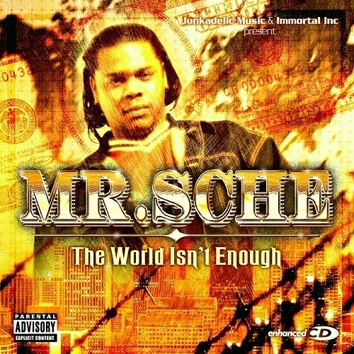 Mr. Sche - The World Isn`t Enough cover