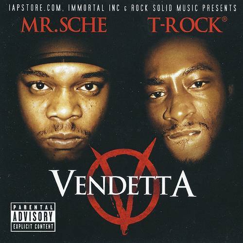 Mr. Sche & T-Rock - Vendetta cover