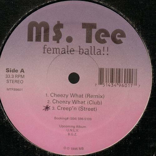 Ms. Tee - Female Balla!!! (12'' Vinyl, 33 1-3 RPM) cover