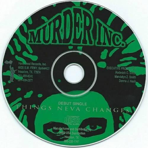 Murder Inc. - Things Neva Changes (CD Single, Promo) cover