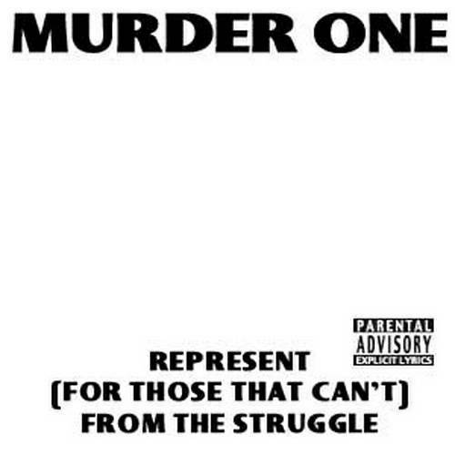 Murder One - Represent (For Those That Can`t) cover