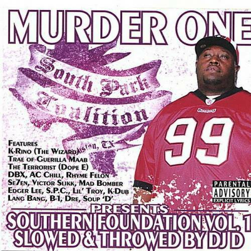 Murder One - Southern Foundation Vol. 1 (slowed & throwed) cover