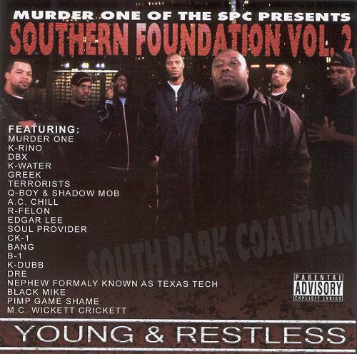 Murder One - Southern Foundation Vol. 2. Young & Restless cover