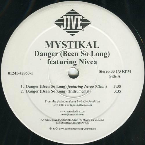Mystikal - Danger (Been So Long) (12'' Vinyl, 33 1-3 RPM) cover