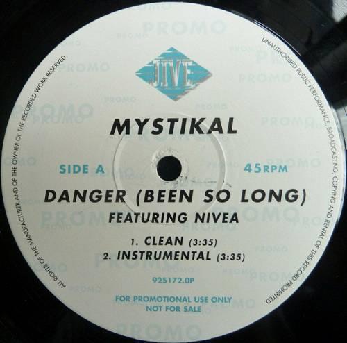 Mystikal - Danger (Been So Long) (12'' Vinyl, 45 RPM, Promo) cover