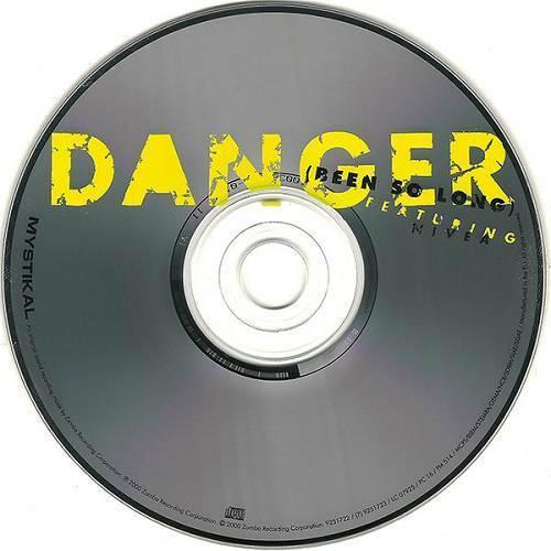 Mystikal - Danger (Been So Long) (CD, Maxi-Single, UK) cover