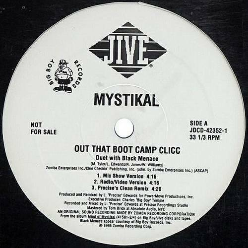 Mystikal - Out That Boot Camp Clicc (12'' Vinyl, 33 1-3 RPM, Promo) cover