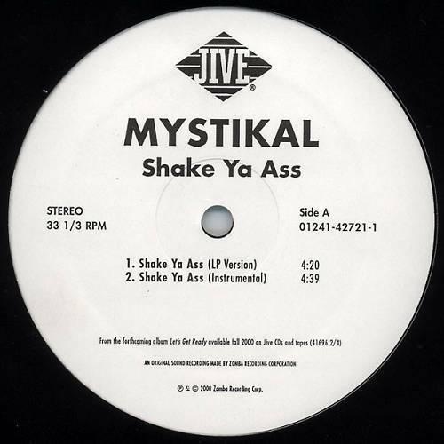 Mystikal - Shake Ya Ass (12'' Vinyl) cover