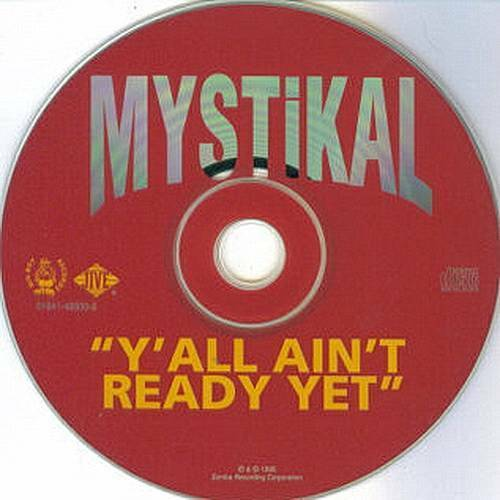 Mystikal - Y`all Ain`t Ready Yet (CD Single, Promo) cover