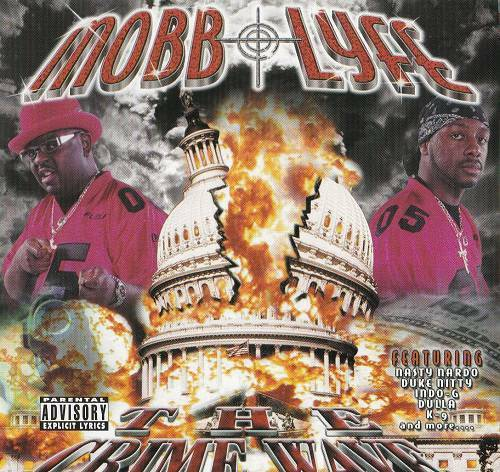 Mobb Lyfe - The Crime Wave cover