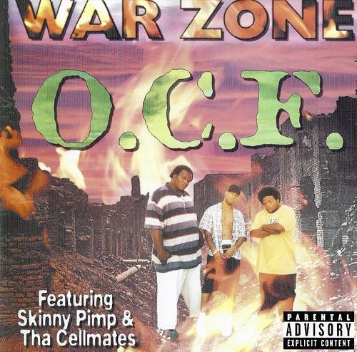 O.C.F. - War Zone cover