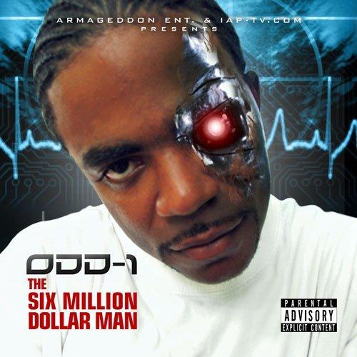 Odd-1 - The Six Million Dollar Man cover