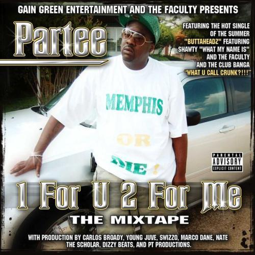 Partee - 1 For U 2 For Me cover