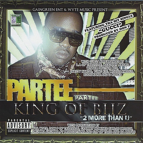 Partee - King Of BHZ. 2 More Than U cover