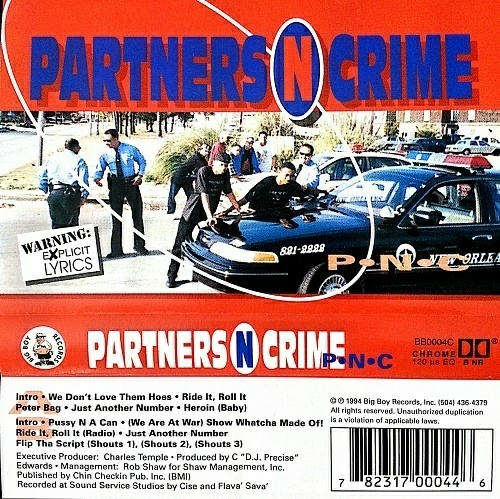 Partners-N-Crime - P-N-C cover