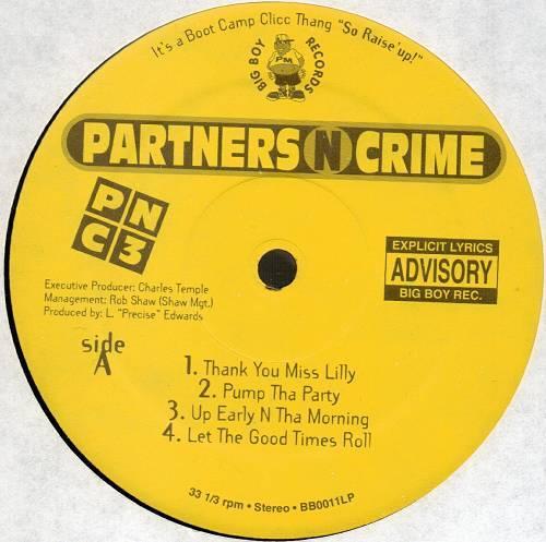 Partners-N-Crime - P-N-C-3 (12'' Vinyl, EP) cover
