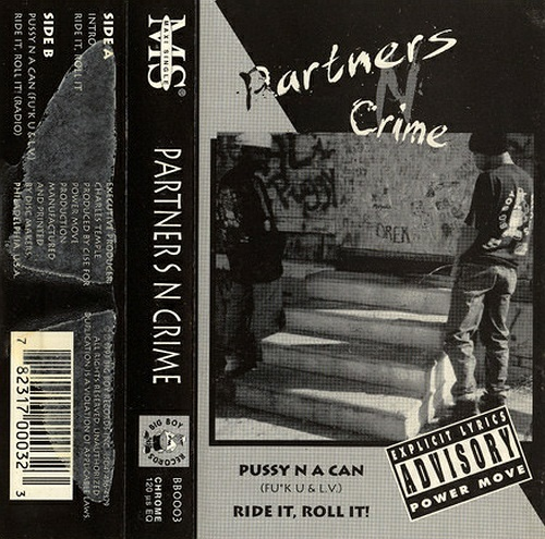 Partners-N-Crime - Pussy N A Can (Cassette, Maxi-Single) cover