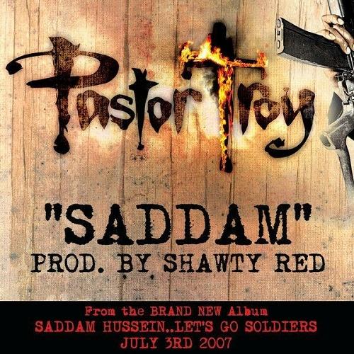 Pastor Troy - Saddam cover
