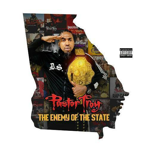 Pastor Troy - The Enemy Of The State cover