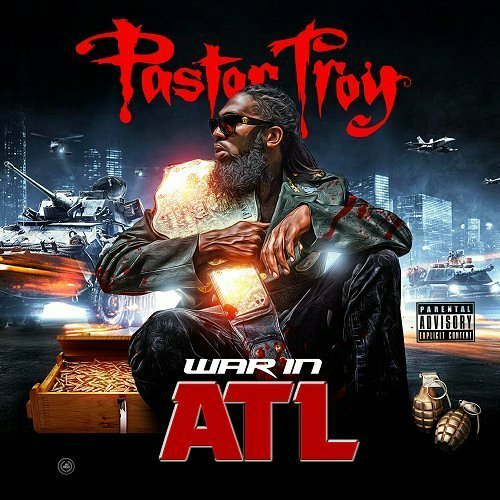 Pastor Troy - War In ATL cover