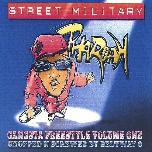 Pharoah - Gangsta Freestyle Volume One cover