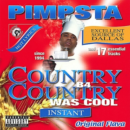 Pimpsta - Country B4 Country Was Cool cover