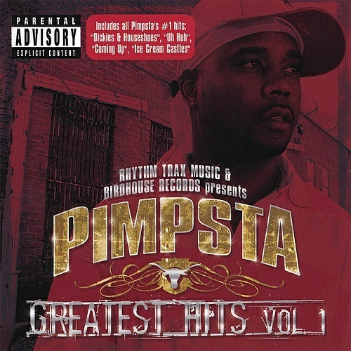 Pimpsta - Greatest Hits Vol. 1 cover