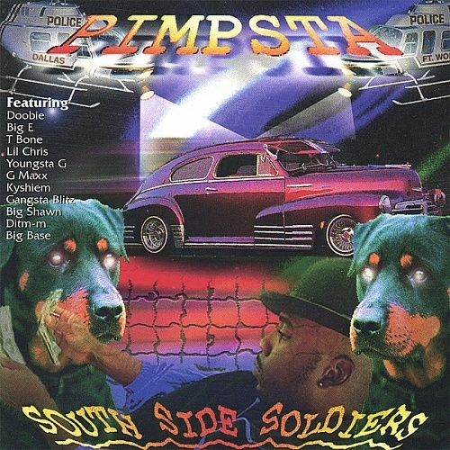 Pimpsta - South Side Soldiers cover