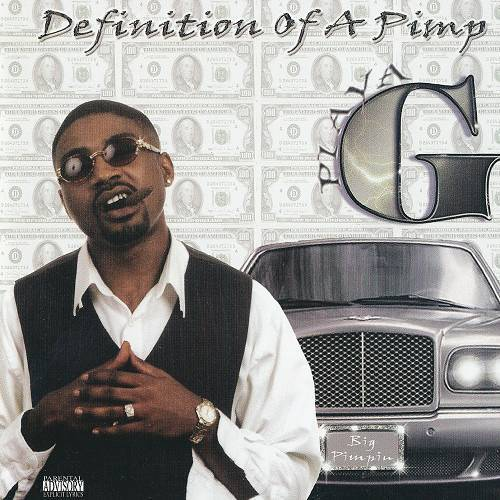 Playa G - Definition Of A Pimp cover