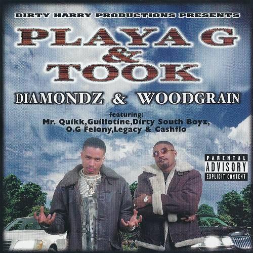 Playa G & Took - Diamondz & Woodgrain cover
