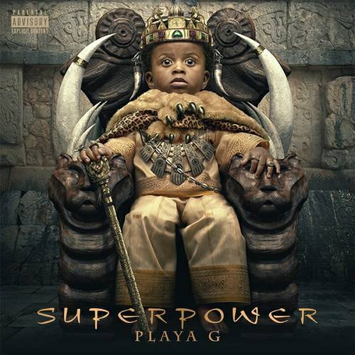 Playa G - Superpower cover