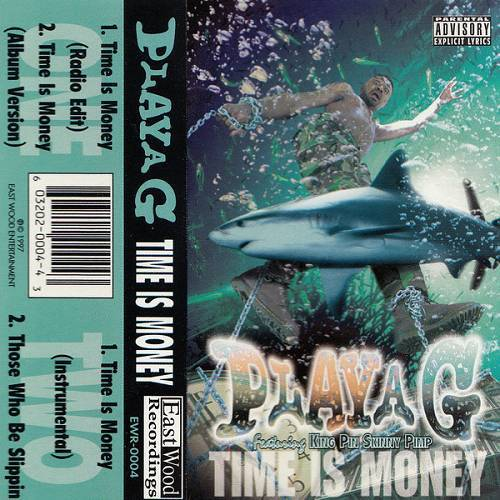 Playa G - Time Is Money (Cassette, Single) cover