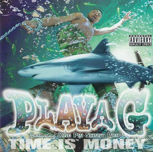 Playa G - Time Is Money (CD, Single) cover