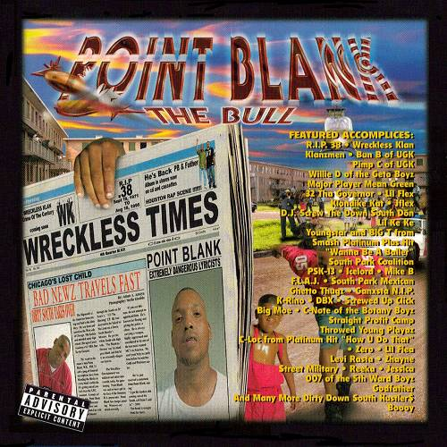 Point Blank - Bad Newz Travels Fast cover