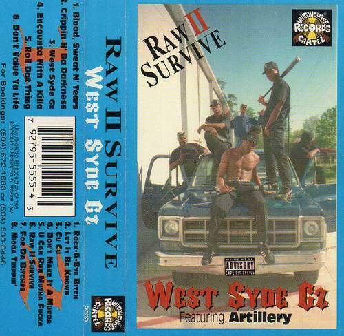 Raw II Survive - West Syde Gz cover