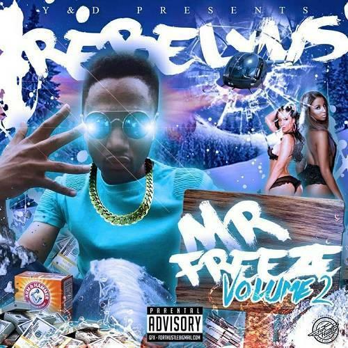 Rebelyus - Mr. Freeze, Vol. 2 cover