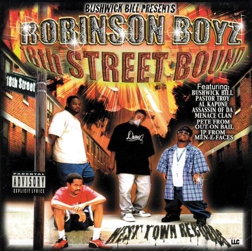 Robinson Boyz - 18th Street Bound cover