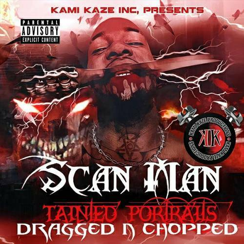 Scan Man - Tainted Portraits (dragged n chopped) cover