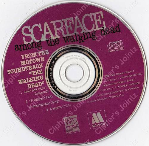 Scarface - Among The Walking Dead (CD Maxi-Single, Promo) cover
