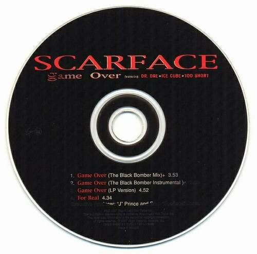Scarface - Game Over (CD Single) cover