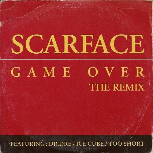 Scarface - Game Over The Remix (CD Single, Promo) cover