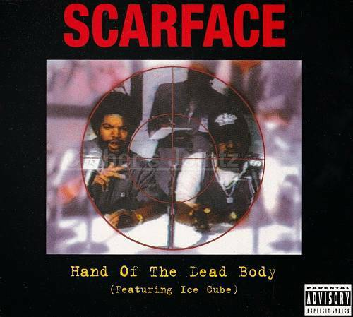 Scarface - Hand Of The Dead Body (CD Single, Virgin, UK) cover