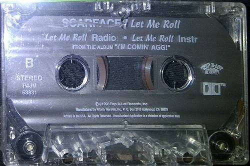 Scarface - Let Me Roll (Cassette Single) cover