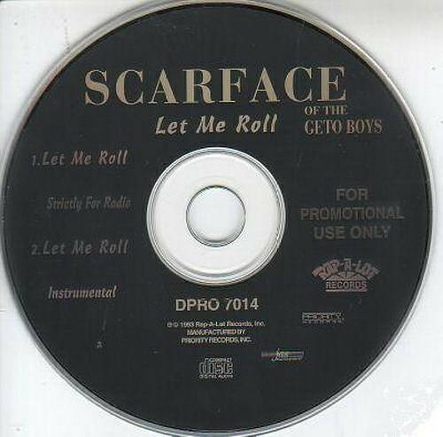 Scarface - Let Me Roll (CD Single, Promo) cover