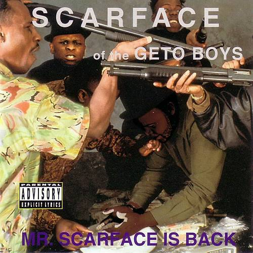 Scarface - Mr. Scarface Is Back cover