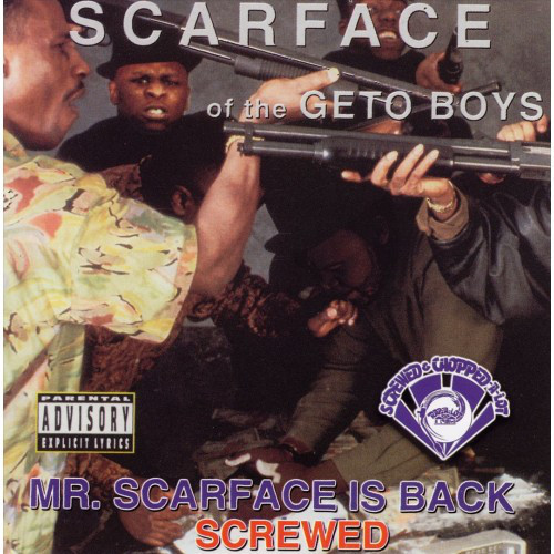 Scarface - Mr. Scarface Is Back (screwed) cover