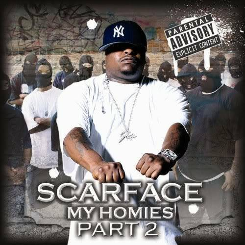 Scarface - My Homies, Part 2 cover