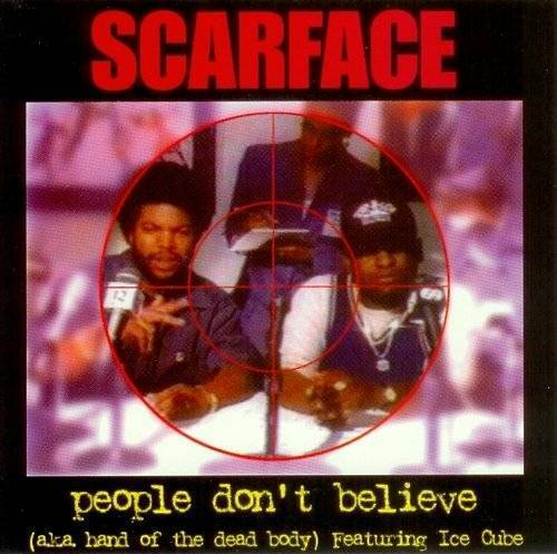 Scarface - People Don`t Believe aka Hand Of The Dead Body (CD, Maxi-Single) cover