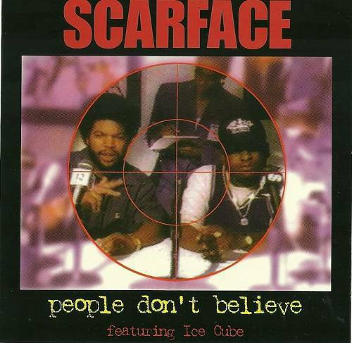 Scarface - People Don`t Believe (CD Maxi-Single, Promo) cover
